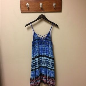 Paper Crane Tie Dye Strappy Dress